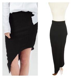 FRANK & Frank & Eileen Tee Lab Asymmetrical Skirt